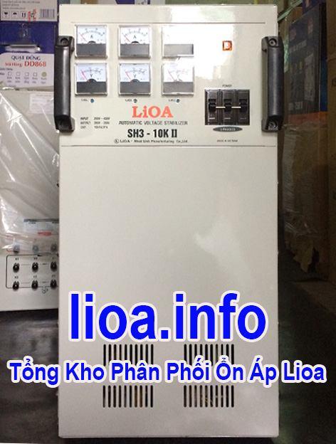 Lioa 10kVA 3 Pha Hàng Chuẩn Giá Tốt Nhất