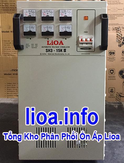 Lioa 15kVA 3 Pha Hàng Chuẩn Giá Tốt Nhất