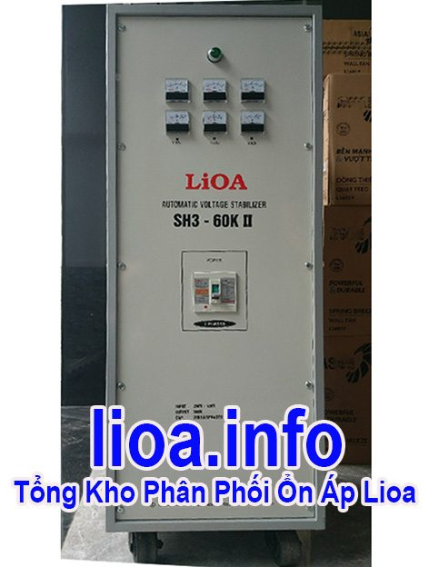Lioa 60kVA 3 Pha Hàng Chuẩn Giá Tốt Nhất