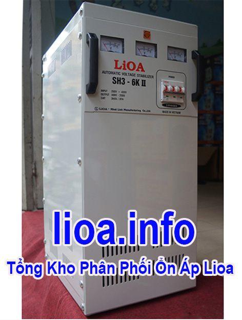 Lioa 6kVA 3 Pha hàng chuẩn giá tốt