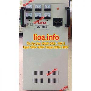 Ổn Áp Lioa 10kVA DR3-10K II Hàng Chính Hãng Bán Giá Phân Phối Tại Kho Cực Tốt
