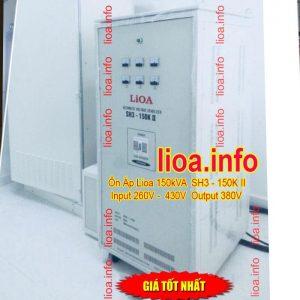 Ổn Áp Lioa 150kVA SH3-150K Bán Giá Phân Phối Cực Tốt