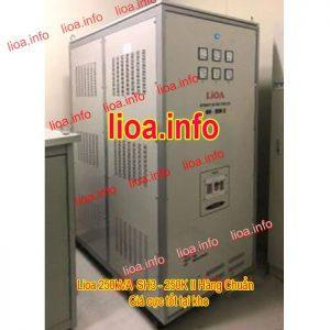 Ổn Áp Lioa 250kVA SH3-250K II Bán Giá Phân Phối Cực Tốt
