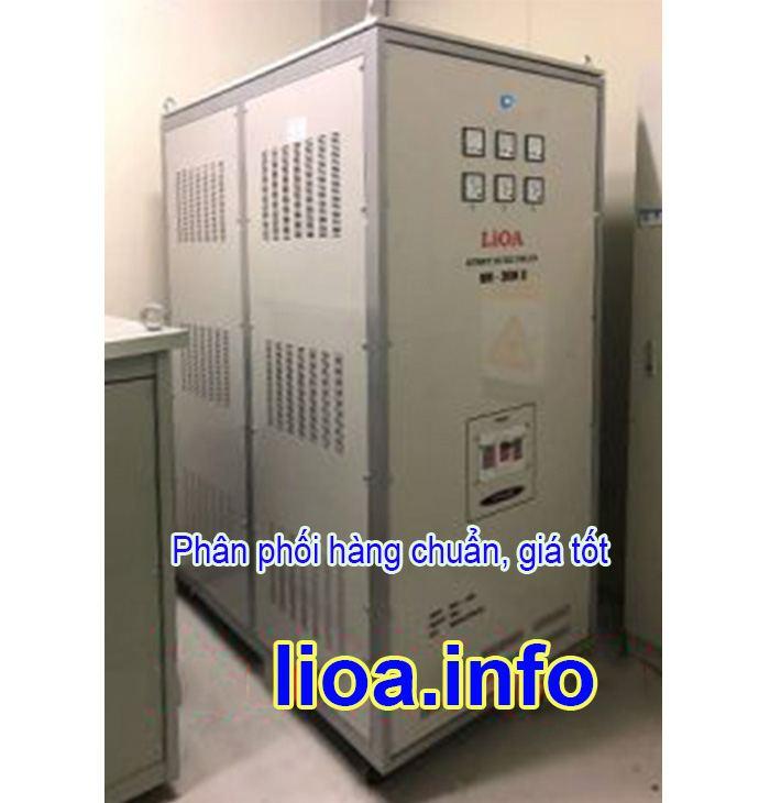 Ổn Áp Lioa 250kVA SH3 3 Pha Đời Mới Nhất Giá Cực Tốt