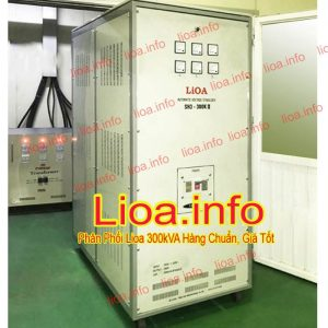 Ổn Áp Lioa 300kVA SH3-300K II Hàng Chính Hãng Giá Phân Phối Tại Kho Cực Tốt