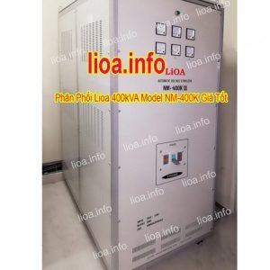 Ổn Áp Lioa 400kVA NM-400K II Hàng Chính Hãng Giá Phân Phối Tại Kho Cực Tốt