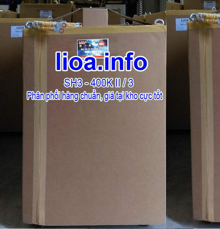 Ổn Áp Lioa 400kVA SH3 3 Pha Đời Mới Nhất Giá Cực Tốt
