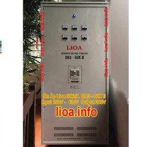 Ổn Áp Lioa 60kVA DR3-60K II Hàng Chính Hãng Bán Giá Phân Phối Tại Kho Cực Tốt