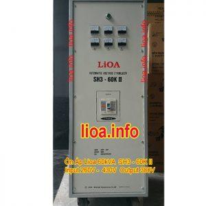 Ổn Áp Lioa 60kVA SH3-60K Bán Giá Phân Phối Cực Tốt