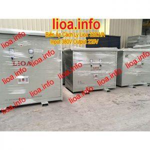 Biến Áp Cách Ly Lioa 320kVA 3 Pha Có Đủ CO CQ VAT Phân Phối Toàn Quốc