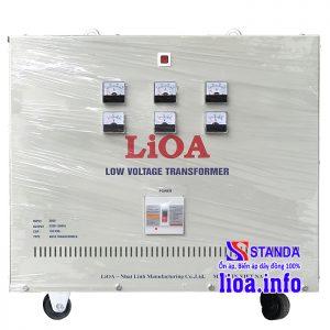 Biến áp tự ngẫu Lioa 150kVA 3 pha