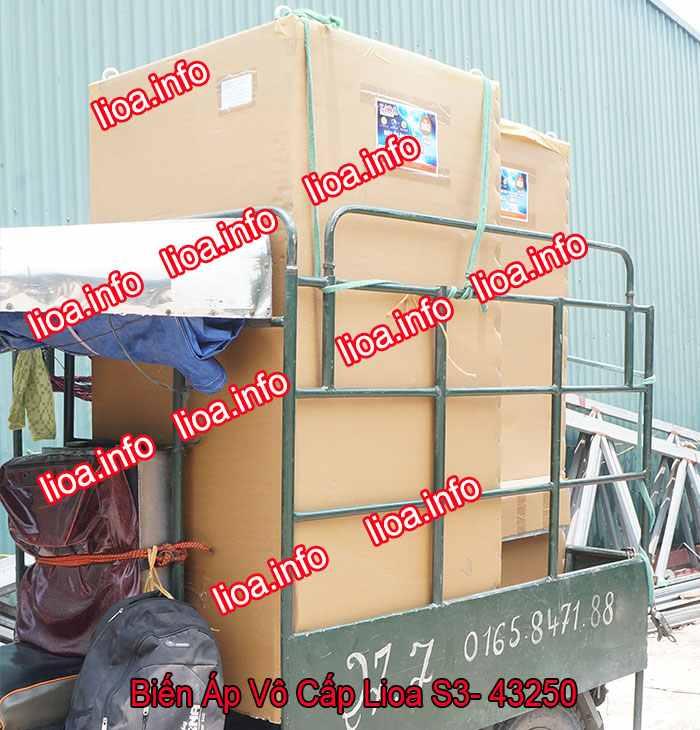 Biến Áp Vô Cấp Lioa S3-43250 3 Pha Công Suất 165kVA Điện Vào 380V Điện Ra 5V-430V