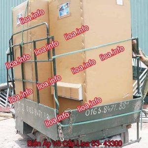 Biến Áp Vô Cấp Lioa S3-43300 3 Pha Công Suất 198kVA Điện Vào 380V Điện Ra 5V-430V