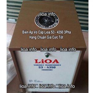 Biến Áp Vô Cấp Lioa S3-4350 3 Pha Công Suất 33kVA Điện Vào 380V Điện Ra 0V-430V