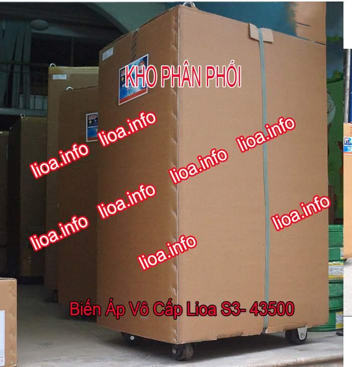 Biến Áp Vô Cấp Lioa S3-43500 3 Pha Công Suất 330kVA Điện Vào 380V Điện Ra 5V-430V