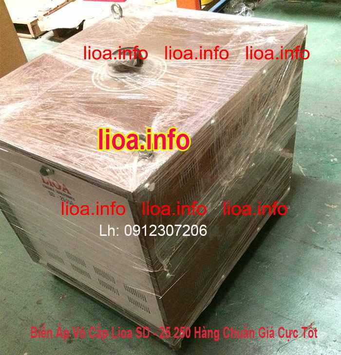 Biến Áp Vô Cấp LiOA SD-25250 Input 220V Output 2V-250V Giá Phân Phối Tại Kho Cực Tốt