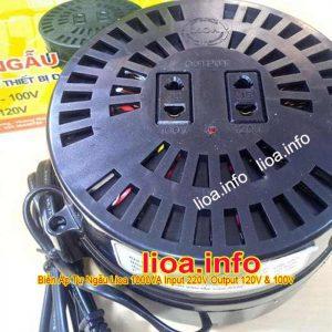 Đổi Nguồn LiOA 1000VA Đổi Điện 220V sang 100V 120V Hàng Chuẩn Mới
