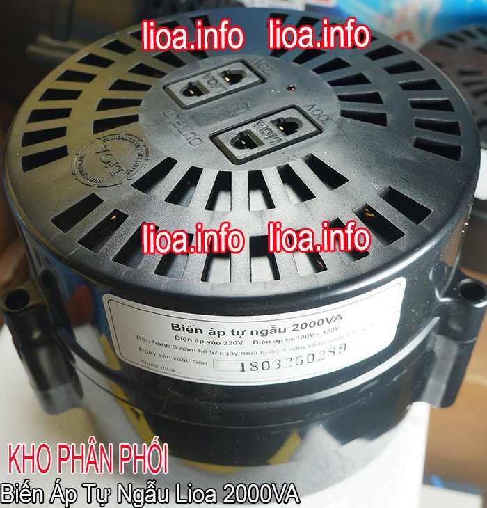 Đổi Nguồn Lioa 2000VA Chuyển Điện 220V Ra Điện 100V và 120V
