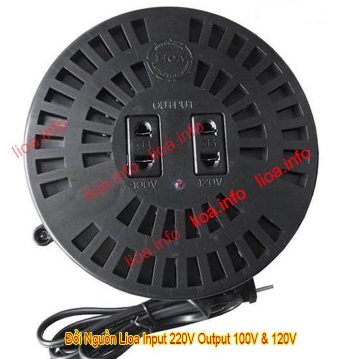Đổi Nguồn Lioa Để Đổi Điện Từ 220V Thành 100V Và 120V Hàng Chuẩn Giá Tốt