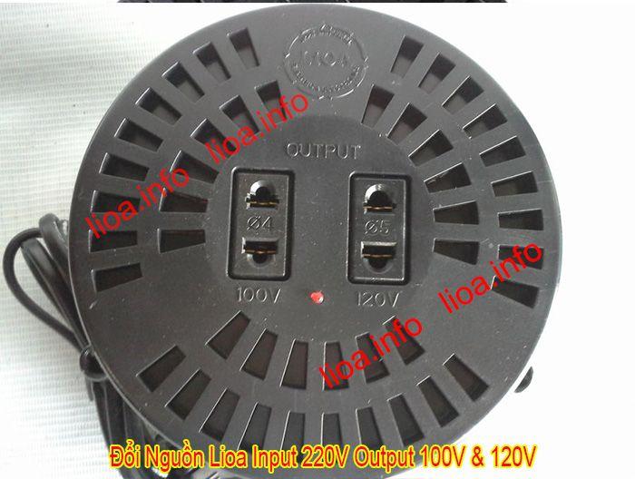 Đổi Nguồn Lioa Để Đổi Điện 220V Ra 100V Và 120V Hàng Chuẩn Giá Tốt