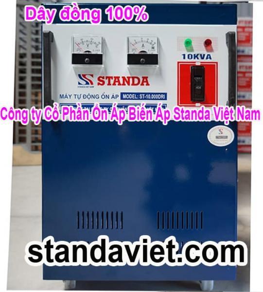 Dùng Standa 10kVA Không Lo Điện Yếu
