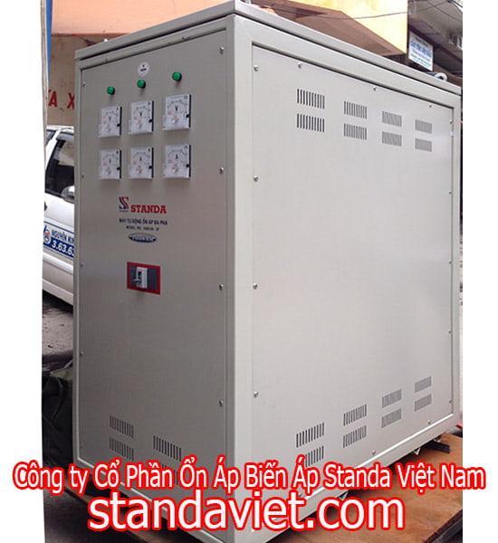 Ổn áp Standa 100KVA Dải 160V-430V Dây Đồng 100%