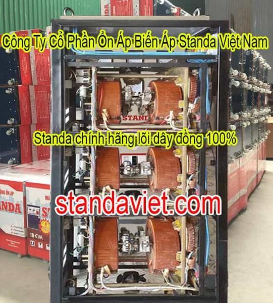 Ổn Áp Standa 75kVA Dây Đồng 100%