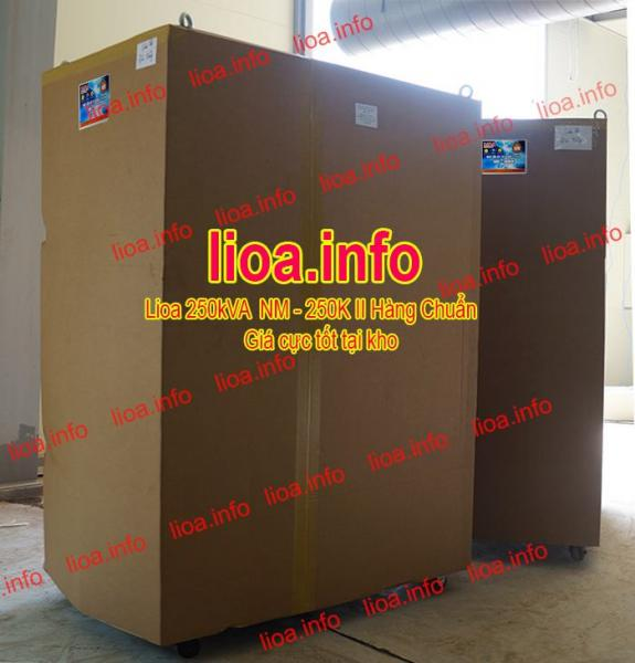 Ổn Áp Lioa 250kVA NM-250K II Hàng Chính Hãng Bán Giá Cực Tốt