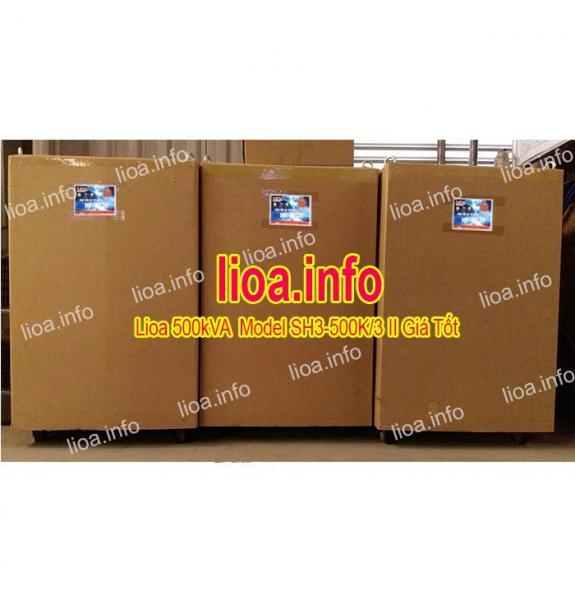 Ổn Áp Lioa 500kVA SH3-500K/3 II Bán Giá Phân Phối Cực Tốt