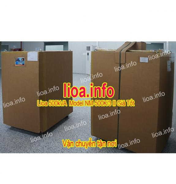 Ổn Áp Lioa 500kVA NM-500K II Hàng Chính Hãng Giá Phân Phối Tại Kho Cực Tốt