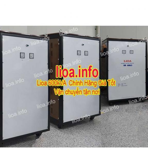 Ổn Áp Lioa 600kVA NM-600K II Giá Phân Phối Cực Tốt