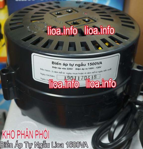 Đổi Nguồn Lioa 1500VA 220V Sang 100V Dùng Cho Đồ Nội Địa Nhật Bản