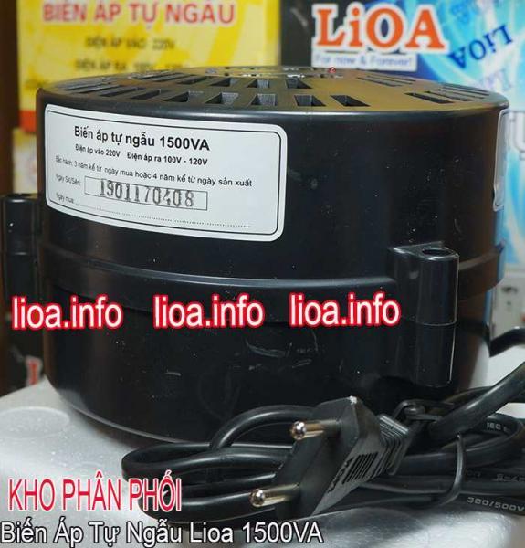 Đổi Nguồn Lioa 1500VA Đổi Điện 220V Sang 100V và 120V Hàng Chuẩn Mới