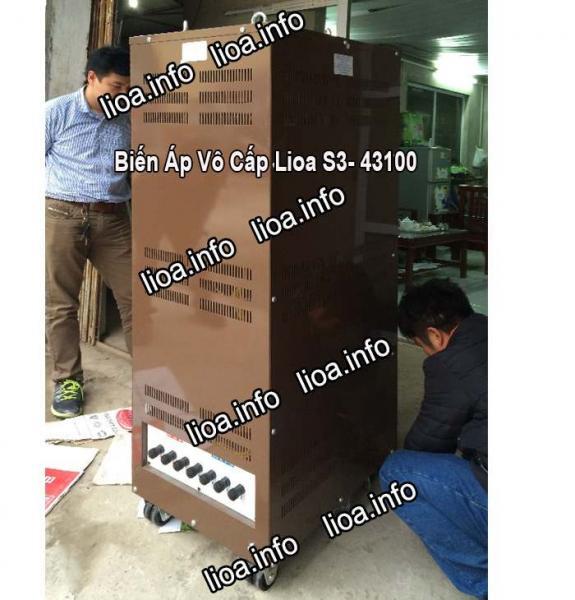 Biến Áp Vô Cấp Lioa S3-43100 Công Suất 66kVA Tổng Kho Phân Phối Máy Chuẩn Giá Tốt