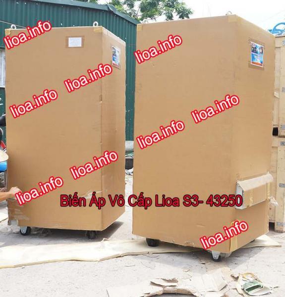 Biến Áp Vô Cấp LiOA S3-43250 Điều Chỉnh Điện Ra Từ 5V-430V Chính Hãng Công Suất 165KVA 250A