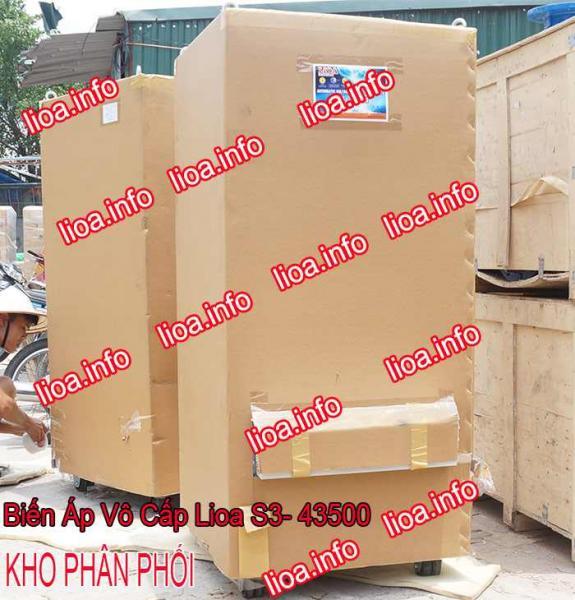 Biến Áp Vô Cấp Lioa S3-43500 Công Suất 330kVA Giá Phân Phối
