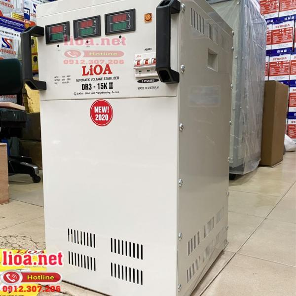 Ảnh Ổn áp Lioa 3 pha 15KVA  DR3